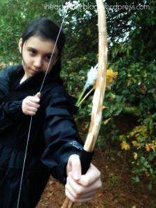 Me as Katniss!